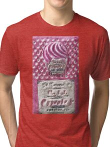 """Exclusive: """"cooking """" / My Creations Artistic Sculpture Relief fact Main 43  (c)(h) by Olao-Olavia / Okaio Créations Tri-blend T-Shirt"""