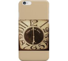 Olde Time iPhone Case/Skin