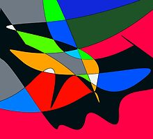 CALDER No.4 by Paul Quixote Alleyne