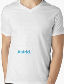 That's A Beautiful Name. Mens V-Neck T-Shirt