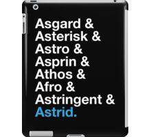 That's A Beautiful Name. iPad Case/Skin