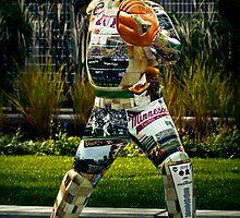 Catcher Statue by jscherr