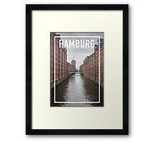 HAMBURG FRAME Framed Print