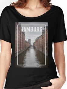 HAMBURG FRAME Women's Relaxed Fit T-Shirt
