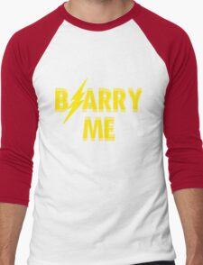 BarryMe Men's Baseball ¾ T-Shirt