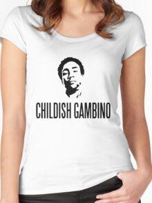 Childish Gambino | Stencil | Tee | Women's Fitted Scoop T-Shirt