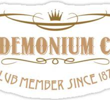 Pandemonium Club Sticker