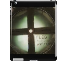 Feed The Starving Writers iPad Case/Skin