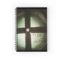 Feed The Starving Writers Spiral Notebook