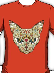 Calavera Cat T-Shirt