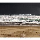 Approaching Storm - Johanna Beach by Craig Holloway