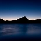 Twilight on Estes Lake by grahamsz