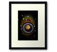 Dark Bubbles © Vicki Ferrari Framed Print