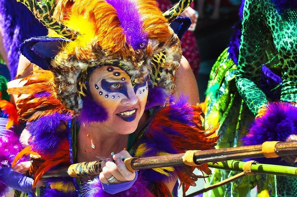 Summer Solstice parade , Santa Barbara , 2011. by Eyal Nahmias
