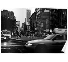 Cross Streets NYC Poster