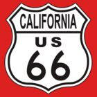 California Route 66 Sign by jean-louis bouzou