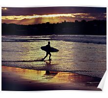 Surf Ray of Light Poster