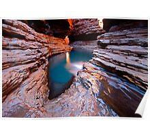 """Kermits Pool"" Karijini National Park, Western Australia Poster"