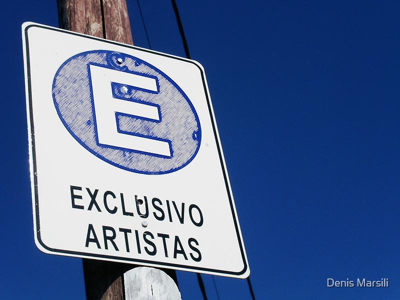 Exclusivo Artistas by Denis Marsili - DDTK