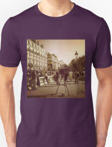 Vintage Paris Photographer T-Shirt