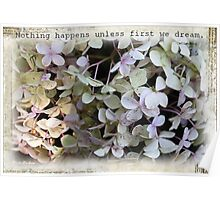 Nothing happens... Poster