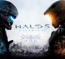 Halo 5 - Guardians  by SupahMadVillain