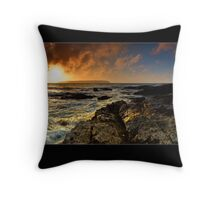 Prelude to a days end Throw Pillow