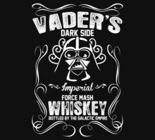 Vader's Dark Side Imperial Force Mash Whiskey Bottled By The Galactic Empire by fashioza
