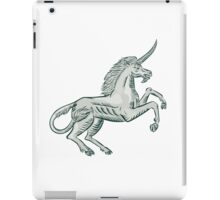 Unicorn Horse Prancing Side Etching iPad Case/Skin