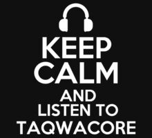 Keep calm and listen to Taqwacore Kids Clothes