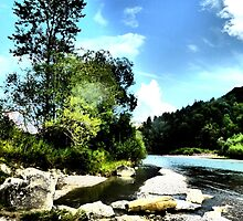At the river Ammer by ©The Creative  Minds