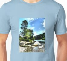 At the river Ammer Unisex T-Shirt