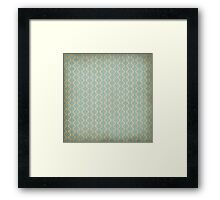 Retro Pattern Framed Print
