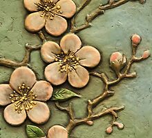 Green Chinese Blossom by ScenerybyDesign
