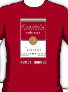 "Andy ""ASCII"" Warhol T-Shirt"