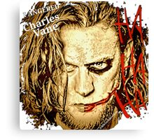 #BlkSailsBrethren's Ned Low Joker  Canvas Print