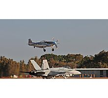 Generations Cross-Over, Mustang and Hornet Photographic Print