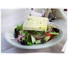 Lovely Greek salad Poster