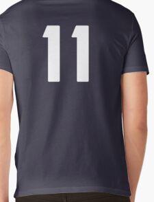 #11 (eleven) Mens V-Neck T-Shirt
