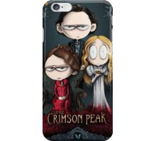 Little Crimson Peak Poster iPhone Case/Skin