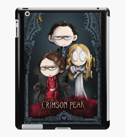 Little Crimson Peak Poster iPad Case/Skin