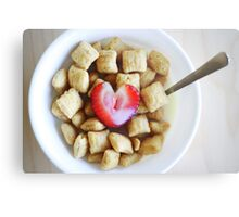i heart cereal Metal Print