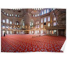 Sultan Ahmet Mosque - Blue Mosque Poster