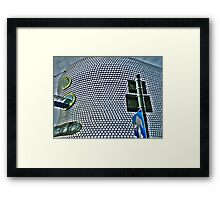 The Bullring HDR Framed Print