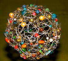 Paper clip ball by Ali Brown
