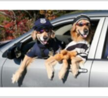 Dog Cops Sticker