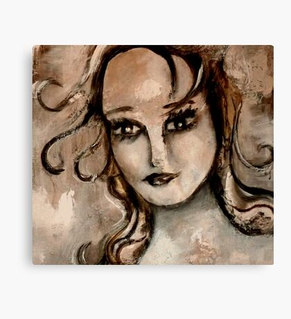 """woman"" Canvas Print"