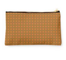 a repeating pattern of squares Studio Pouch