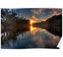Murray River #6 | Echuca | Victoria Poster