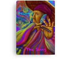 ''Being the song'' Canvas Print